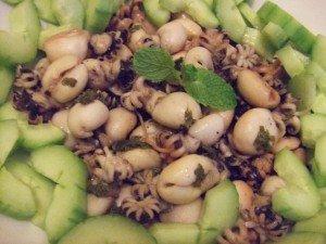 20141115 - salade seiches - résultat
