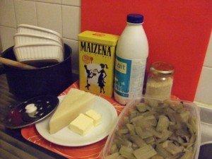 20141117 - gratin blettes - ingredients