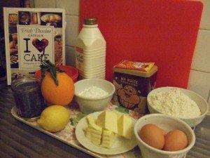 20141216 - Couronne graines de pavot et orange - ingrédients