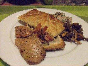 Atelier - Feuil Champignons foie gras