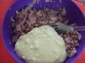 20150220 - Verrine crabe patates douces agrumes - incorporer avec thon émitté