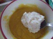20150220 - Verrine crabe patates douces agrumes - mayo & crème fouettée