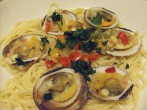 20150413 - Spagetti amande - Et voilà !