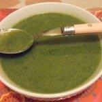 20150425 - Soupe de fanes de radis - Et voilà !
