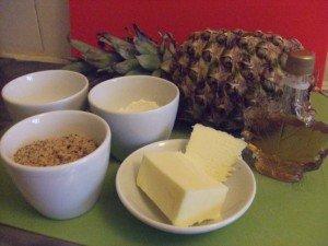 20150501 - Crumble d'ananas - Ingrédients