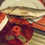 20150615 - Dorade grillée aux branches de fenouil - Farcir