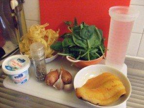 20150710 - One Post Pasta -  Tagliatelles épinards haddock fumé - Ingrédients
