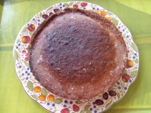 20150712 - Crunchy top lemon cake - arroser
