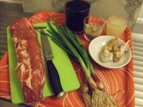 20150719 - Filet mignon porc mariné - Ingrédients