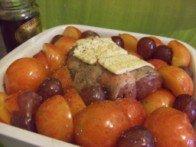 20150913 - Agneau prunes miel - avant cuisson