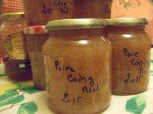20151024 -  conf poire coing miel - Et voilà !