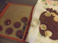 20151025 - Sablés chocolat amande - Emporte pièce 5cm
