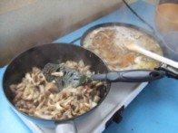 20151115 - Crème pleurote pieds de porc - cuisson 1
