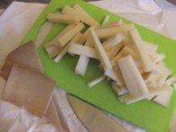 20160228 - Tatin blette Pastarou - Pastarou en lamelles