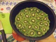20160304 - Gâteau renversé noix de coco et kiwis caramélisés - Tapisser le fond
