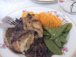 20160327 - Escapoles farcies au foie gras - assiette