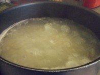 20140617 - Bucatini aubergine noire - cuisson des pâtes