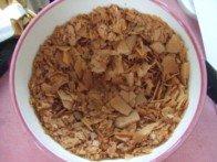 20160408 - Surprise au chocolat - Emietter crèpes dentelles