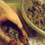 20160606 - Pintade olives noires - Farcir