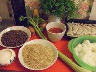 20160618 - Salade carmarguaise - Ingrédients