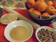 20160618 - Tarte abricot pistache - Ingrédients