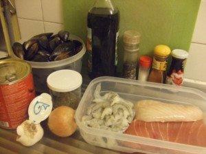 20161014 - Ragout de poissons -Ingrédients