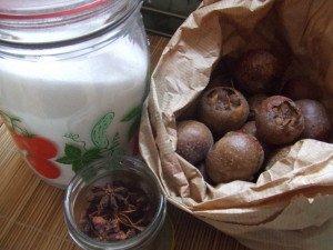 20161206 - Compote nèfle pomme et badiane - Ingrédients