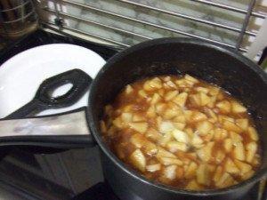 20161206 - Compote nèfle pomme et badiane - Mettre à compoter