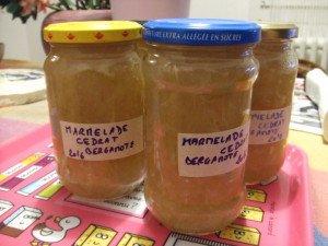 20161212 - Marmelade cédrat bergamote - Et voilà !