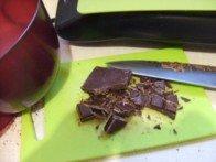 20170508 - Mousse au chocolat sans oeuf - découper