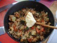 20171013 - Fondant de poulet au jus de couscous - Incorporer le beurre dans semoule et légumes
