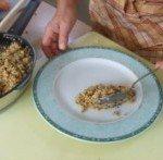 20171013 - Fondant de poulet au jus de couscous - Présentation 1