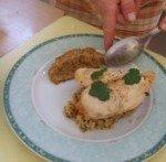 20171013 - Fondant de poulet au jus de couscous - Présentation 4
