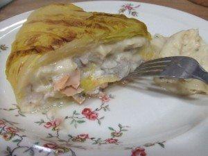 20180112 - Gâteau de chou aux deux poissons - Une part